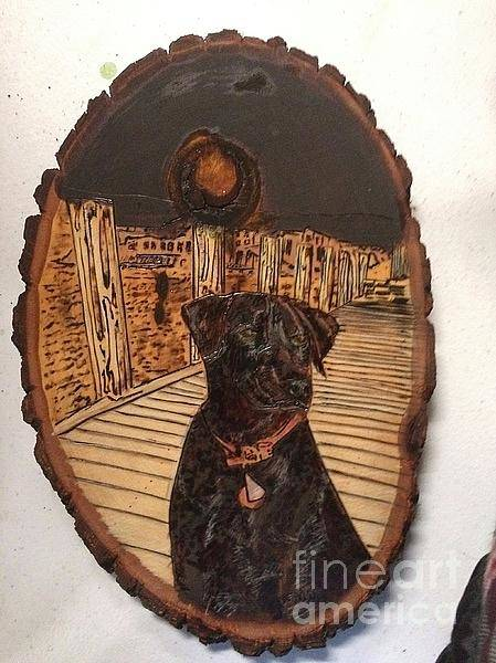 Pyrography - Timber by Denise Tomasura