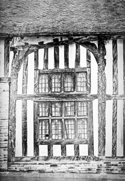 Pencil Sketch Photograph - Timber House by Tom Gowanlock