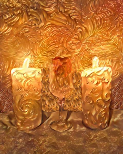 Cellar Digital Art - Time For Wine - 2547 by Artistic Mystic
