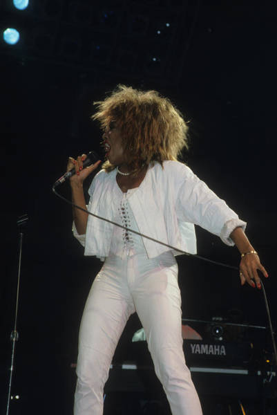 Photograph - Tina Turner by Rich Fuscia