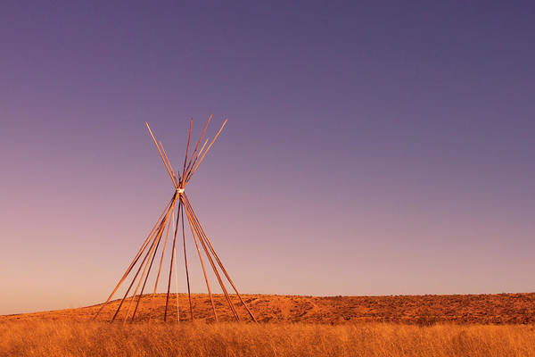 Photograph - Tipi by SR Green