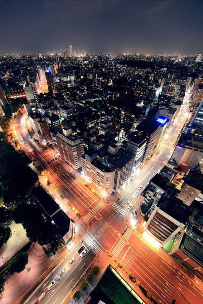Photograph - Tokyo Night by Songquan Deng