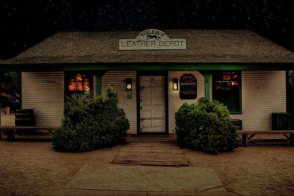 Photograph - Toler's Leather Depot by Alison Frank
