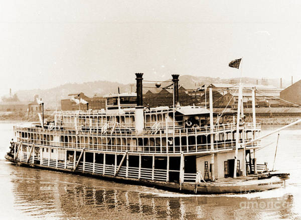 Photograph - Tom Greene River Boat by Gary Wonning