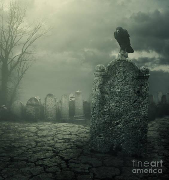 Wall Art - Digital Art - Tombstone by Jelena Jovanovic