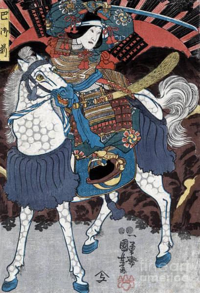 Wall Art - Photograph - Tomoe Gozen, Female Samurai Warrior by Science Source