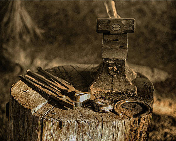 Farrier Photograph - Tools Of The Trade  by Don Schimmel