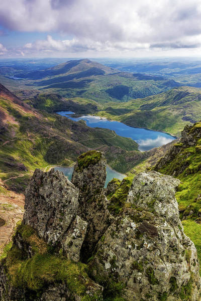 Photograph - Top Of Snowdon by Ian Mitchell