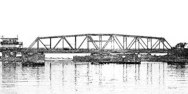 Wall Art - Photograph - Topsail Island Swing Bridge by Betsy Knapp