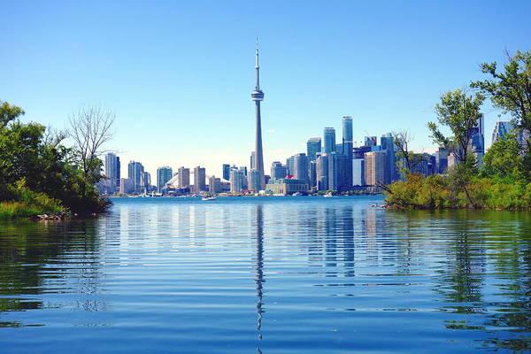 Wall Art - Photograph - Toronto Cityscape by Valentino Visentini