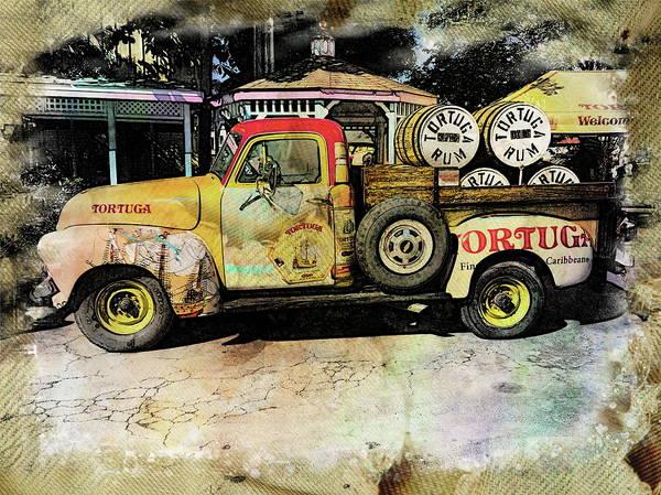Digital Art - Tortuga Rum Factory by Anthony Dezenzio
