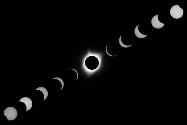 Total Eclipse 2017 Art Print