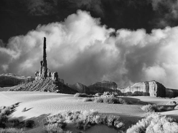 Photograph - Totem Pole Monument Valley by Dominic Piperata