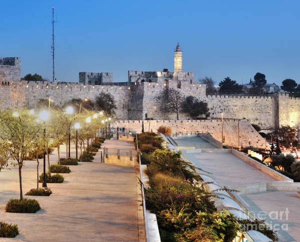 Wall Art - Photograph - Tower Of David by Noam Armonn