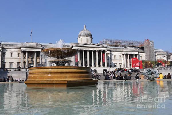 Photograph - Trafalgar Square London by Julia Gavin