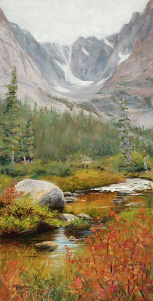 Painting - Tranquility by Mary Giacomini