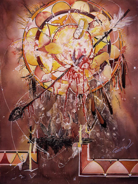 Painting - Transcending Large by Connie Williams