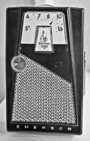 Photograph - Transistor Radio Blown Up by Matthew Bamberg