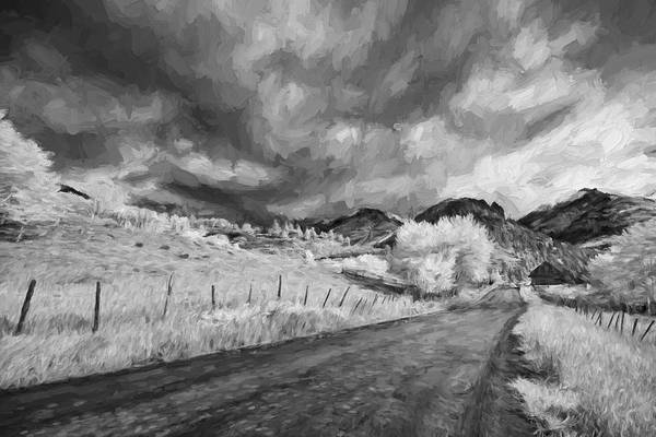 Autumn Colors Digital Art - Traveling Down II by Jon Glaser