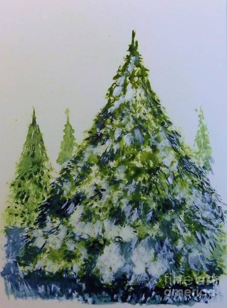 Painting - Tree by David Neace