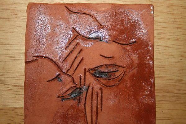 Ceramic Art - Tresa - Tile by Gloria Ssali