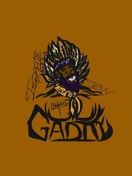 Drawing - Tribe Of Gad by Robert Watson