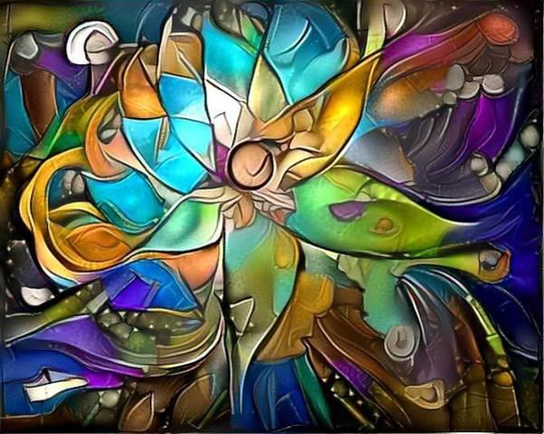 Wall Art - Digital Art - Trippy by Amanda Moore