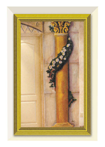 Painting - Trompe L'oeil Column by Thomas Lupari