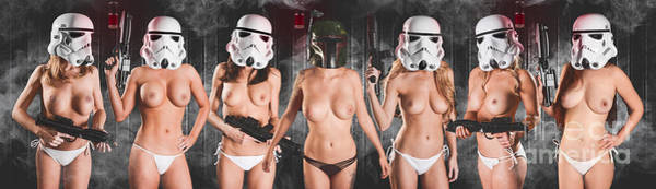 Laser Gun Photograph - Trooper Army by Jt PhotoDesign