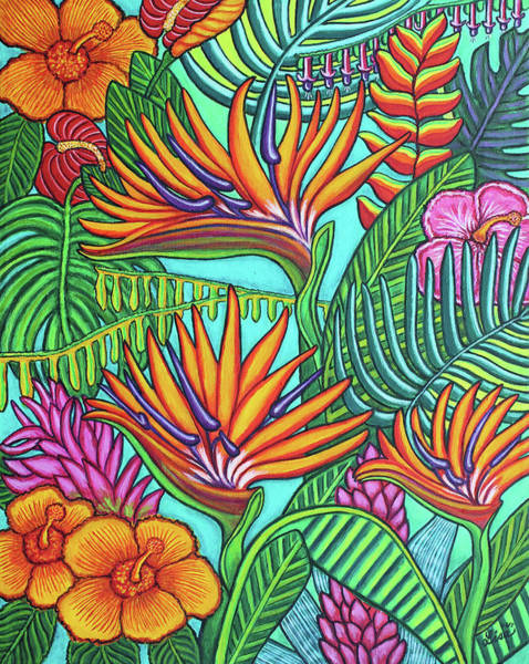 Painting - Tropical Gems by Lisa Lorenz