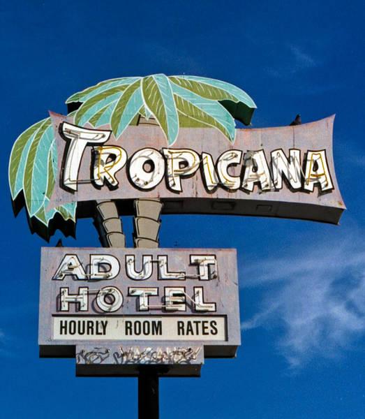 Retro Wall Art - Photograph - Tropicana by Matthew Bamberg