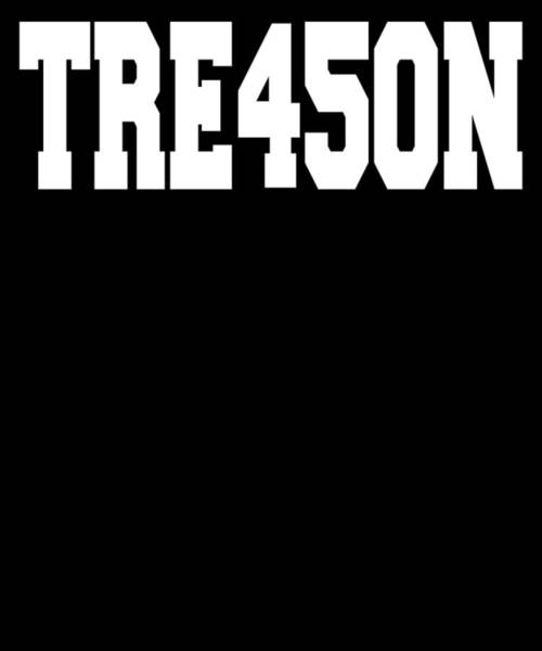 Midterm Wall Art - Digital Art - Trump Treason Tre45on 45 President Putin by Trisha Vroom