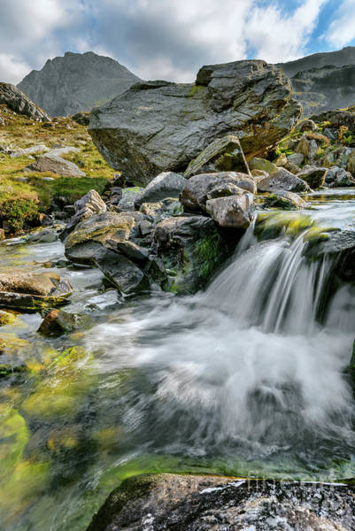 Snowdonia Wall Art - Photograph - Tryfan In The Ogwen Valley by Adrian Evans