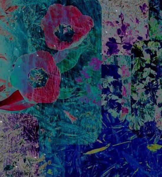 Wall Art - Digital Art - Tulips by Lessandra Grimley