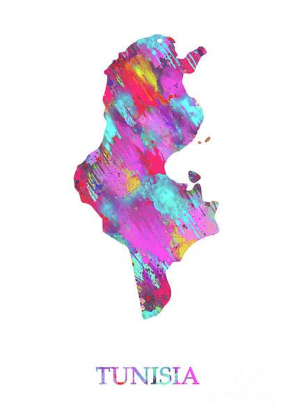 Tunisia Digital Art - Tunisia. by Prar Kulasekara