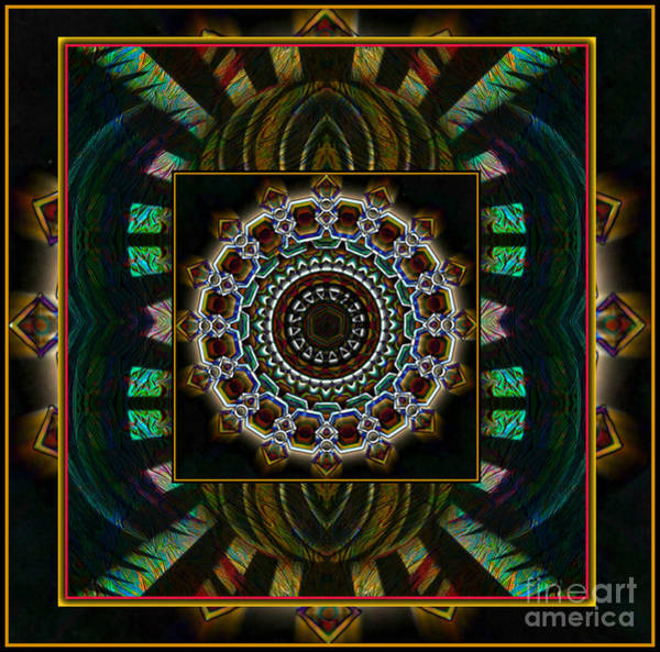Mixed Media - Tunnel Vision by Wbk