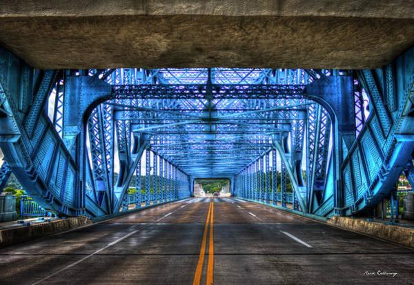 Photograph - Tunnel Vision Chief John Ross Bridge Chattanooga Tn Art by Reid Callaway