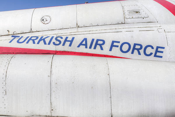 Wall Art - Photograph - Turkish Air Force Logo by David Pyatt