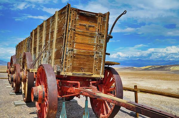 Photograph - Death Valley Twenty Mule Team Wagon by Kyle Hanson