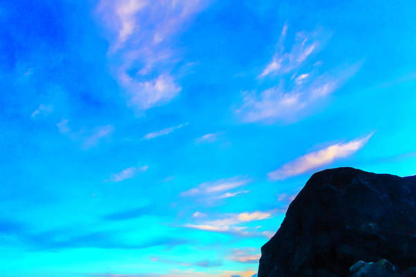Costal Photograph - Twilight Clouds by Garry Gay