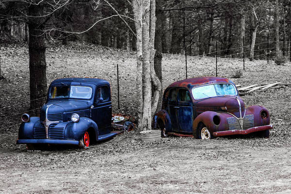 Photograph - Two Old Classics by Dale R Carlson