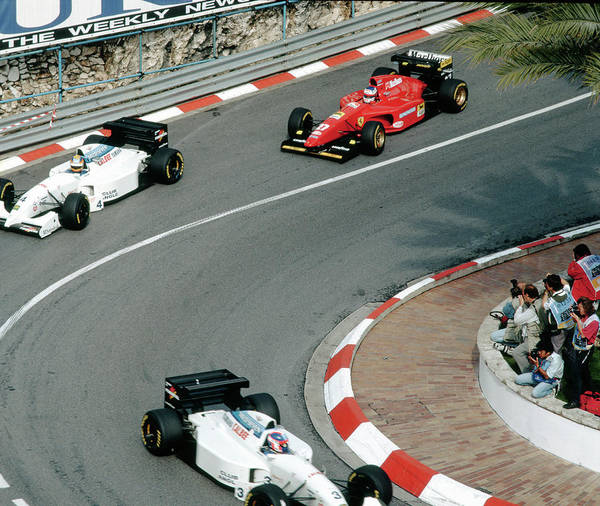 Photograph - Two Tyrrells Plus Ferrari by John Bowers