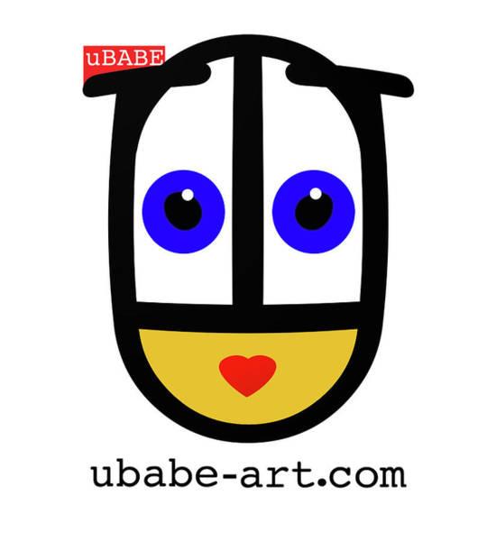 Wall Art - Digital Art - Ubabe Art by Charles Stuart