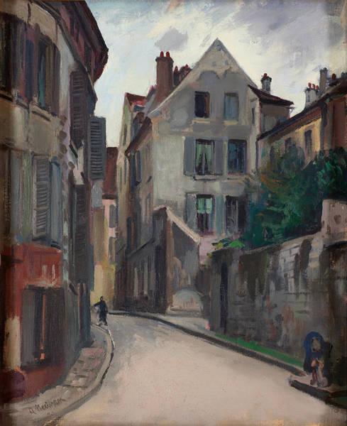 Neighborhood Painting - Ulica  by Mountain Dreams