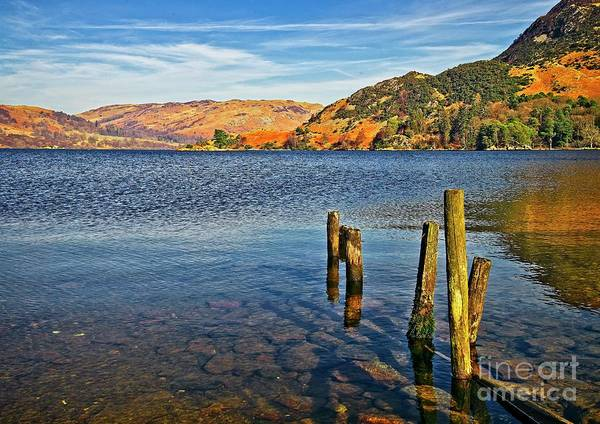 Glenridding Wall Art - Photograph - Ullswater Lake District by Martyn Arnold