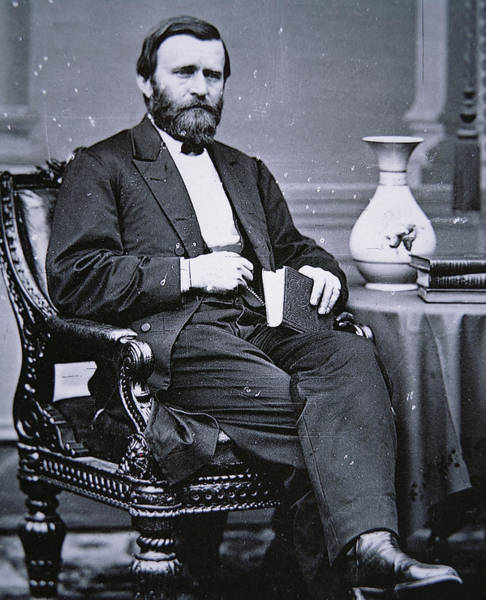 U. S. Presidents Wall Art - Photograph - Ulysses Simpson Grant by Matthew Brady