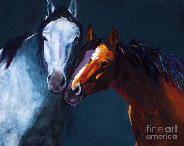 Unbridled Love Art Print