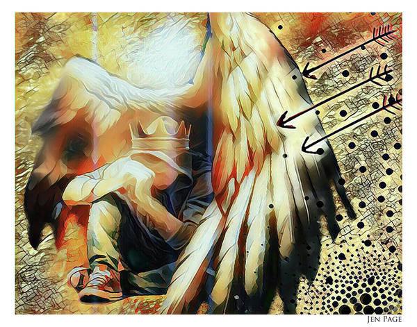 Under His Wings Art Print
