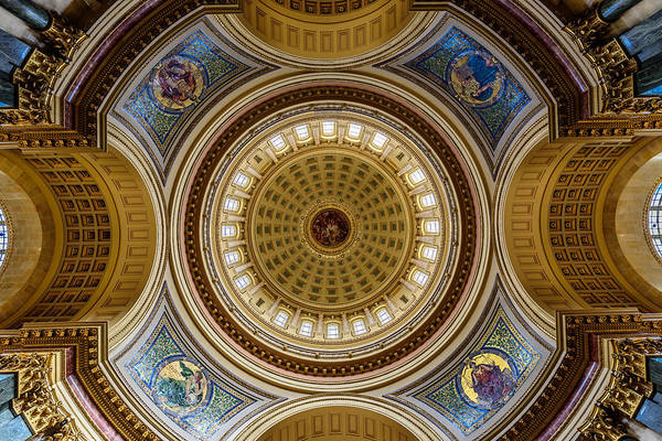 Photograph - Under The Dome by Randy Scherkenbach