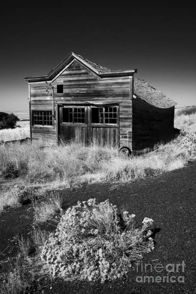 Derelict Wall Art - Photograph - Under The Weight Of It All by Mike  Dawson